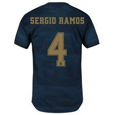DW4446 adidas 2019-20 Real Madrid Authentic Men's Away Jersey Sergio Ramos 4