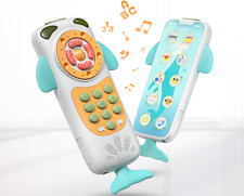 Baby Mobile Phone Cute Toys For Baby Music Phone Toys Early Educational 0-12