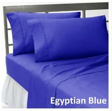 Comfort Duvet Collection 100% Cotton 1000 TC Select US Size Egyptian Blue Solid