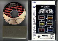 Midway Presents Arcade's Greatest Hits For Sega Saturn Vintage Very Good