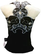 Rockabilly Punk Rock Baby TATTOO TIKI SKULL Emo Ska TANK-TOP SHIRT S M L XL XXL