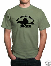 My Plecostomus Sucks! Funny Tropical Fish T-Shirt.