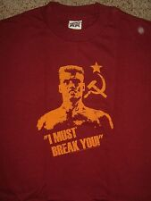 New Rocky Balboa Drago I Must Break You Movie Shirt