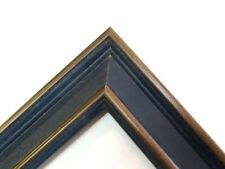 Small Country Blue Solid Wood Picture Frame