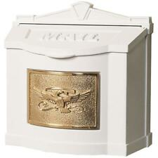Gaines Locking Wall Mount Mailbox - Eagle Mail Box