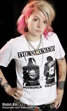 VARUKERS SHIRT WHITE NOTHINGS CHANGED PUNK UK 82 POGO