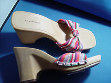 "NIB AMANDA SMITH ""RAINBOW"" DESIGNER HEELS SHOES"