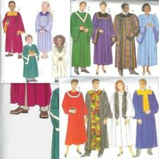Church / Choir Robe Butterick Sewing Pattern Unisex  You Pick