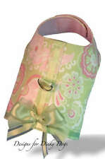SM DOG CLOTHES HARNESS OUTFIT  PAISLEY XS, SMALL OR MED