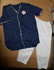 NWT BASEBALL DANCE COSTUME Theatrical Take me out to the ballgame Wolff Fording