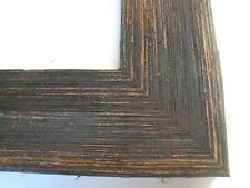 "2"" Wide Rustic Black Grungy Barnwood Picture Frame-Std."
