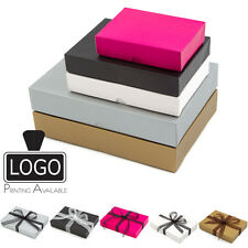 Matt Finish Flat Pack Gift Boxes 3 Sizes Bulk Deal!