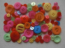 Mixed buttons choice of colours 50 grams free 2nd class postage