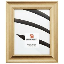 """Picture Frame Distressed Champagne 1.75"""" Wide Complete New Frame (22605842)"""