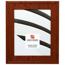 "Craig Frames Marshall Oak, 1.75"" Dark Brown Oak Hardwood Picture Frame"