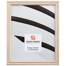 Craig Frames Various White Wood Traditional Picture Frame Poster Frame 200ASHWW