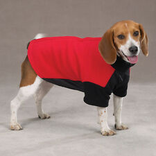 Guardian Gear Fleece Dog Coat Jacket with Velcro Back Red Blue XXS XS L XL XXL