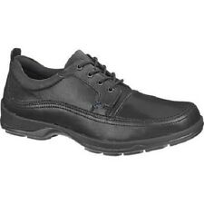 "NIB hush puppies "" STATIC"" COMFORT CASUAL/ DRESS SHOES oxford BLACK LEATHER SZ11"