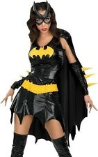 Adult New Sexy Batgirl Costume Batwoman Outfit