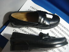 NIB $80  NEW CHAPS LEATHER CARSON TASSEL LOAFER DESIGNER SHOES
