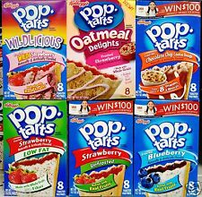 Kellogg's Pop Tarts Toaster Pastries ~ One box