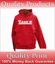 MENS CASE TRACTOR FARM MX120 956 PERSONALISED PRINTED HOODIE QUALITY ALL SIZES