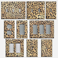 Leopard/Cheetah Spots Animal Print African Light Switchplates & Outlet Covers