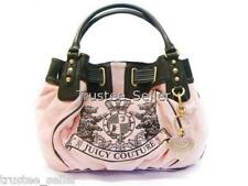 JUICY COUTURE Free Style Large Scottie Embroidery Tote Bag Purse w Heart Charm