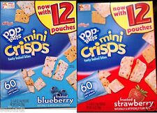 KELLOGG'S POP TARTS MINI CRISPS TASTY BAKED BITES 100 CALORIE ~ PICK ONE