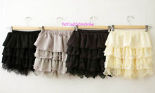 Japan Relaxed Puffy Ruffle Lace Tiered Bloomer Shorts!!!