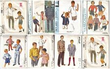 Vintage McCal'ls Sewing Pattern Boys Clothing Outfits McCalls Pattern You Pick