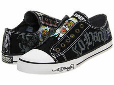 NEW  ED HARDY® Ed Hardy Lowrise 100 DESIGNER ATHLETIC STYLE SHOES MANY SIZES CLR