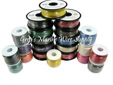 14 AWG Tinned Marine UL Boat Primary Wire (14 Colors) From 25ft. up to 1000ft.