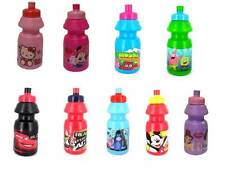 KIDS CHARACTER DRINKING DRINK WATER BOTTLE FUN SCHOOL LUNCH BOTTLE
