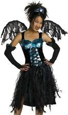 Kids Girls Costume Aqua Fairy Party Outfit + Wings