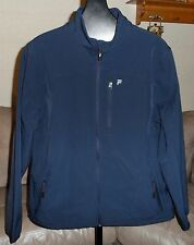 FILA SPORT Water Repellant Performance Zip Front JACKET Fleece Lined Mens M or L