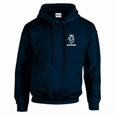 SCANIA TOPLINE R SERIES 580 HEAVYWEIGHT HOODIE SWEAT ALL SIZES S - XXL NAVY NEW