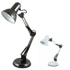 HOBBY DESK TABLE READING LIGHT LAMP SWIVEL ARM HOME OFFICE BEDROOM BEDSIDE STUDY