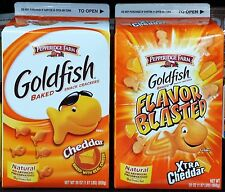 Pepperidge Farm Goldfish Baked Snack Cheddar Cheese Crackers Bulk ~ Pick One