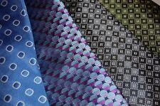 Paul Fredrick ties New in the Box! FREE SHIP!Geometric Pattern!