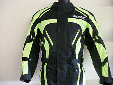 NEW WULFSPORT HI-VIZ ENDURO MOTORCYCLE JACKET (ALL SIZES) WULF COAT ROAD KTM BMW