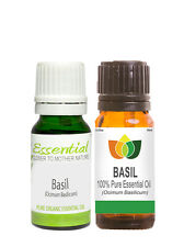 100% Natural Basil Essential Oil - Multi Size, FREE P&P (Aromatherapy)