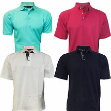 Henbury Polo Shirt New Mens Superb for Golf Societies etc Various Sizes Colours