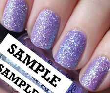 FINE GLITTER DUST BLING SPARKLY LILAC SHINE NAIL ART 4 GEL/NATURAL/ACRYLIC #17