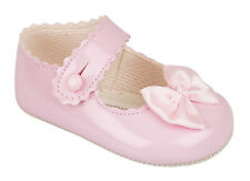 BABY GIRLS PRETTY  PRAM SHOES