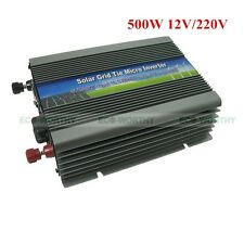 300W /500W Micro Grid Tie Inverter W/ MPPT Function for Solar Module Home System