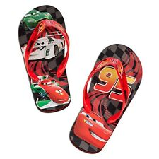 CARS McQUEEN FRANCESCO DISNEY Flip Flops Beach Sandals NWT Toddler's 7/8 or 9/10