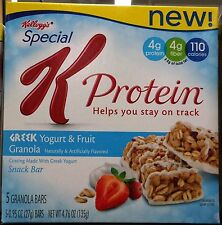 Kellogg's Special K 90 Calorie Cereal Bars Fiber Whole Grain ~ One Box