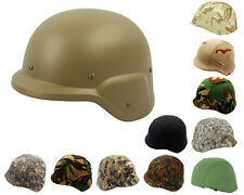 Airsoft M88 PASGT Kelver Swat Helmet Tan with Helmet Cover 10 Colors