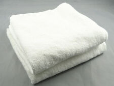 10/50PC WHOLESALE NEW WHITE HOTEL 30*30CM 100% COTTON TERRY BATH TOWELS